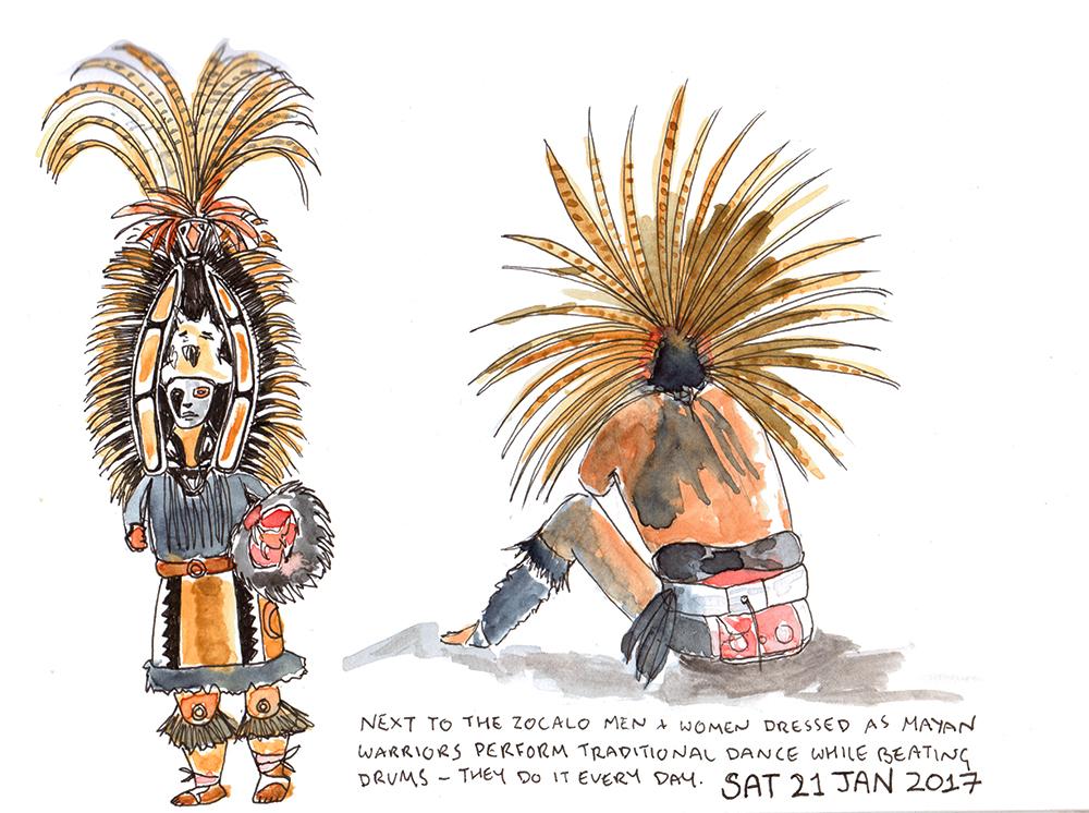 Mayan Warriors Mexico City