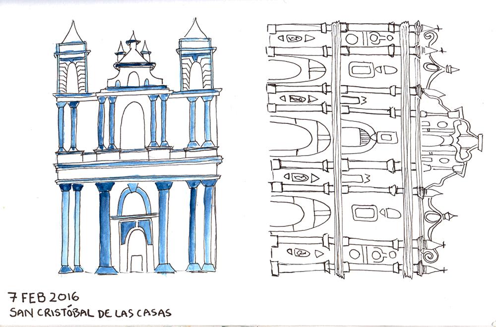 Buildings in San Cristobal
