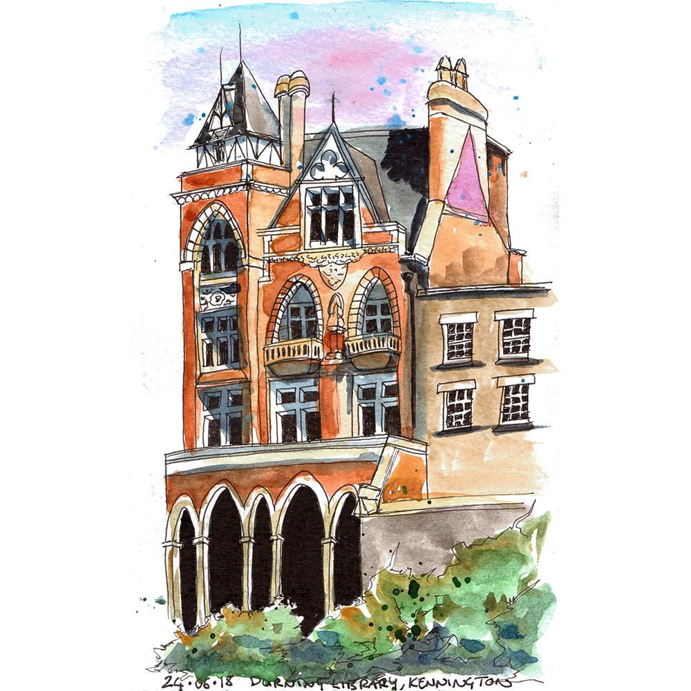 Durning Library Kennington, London