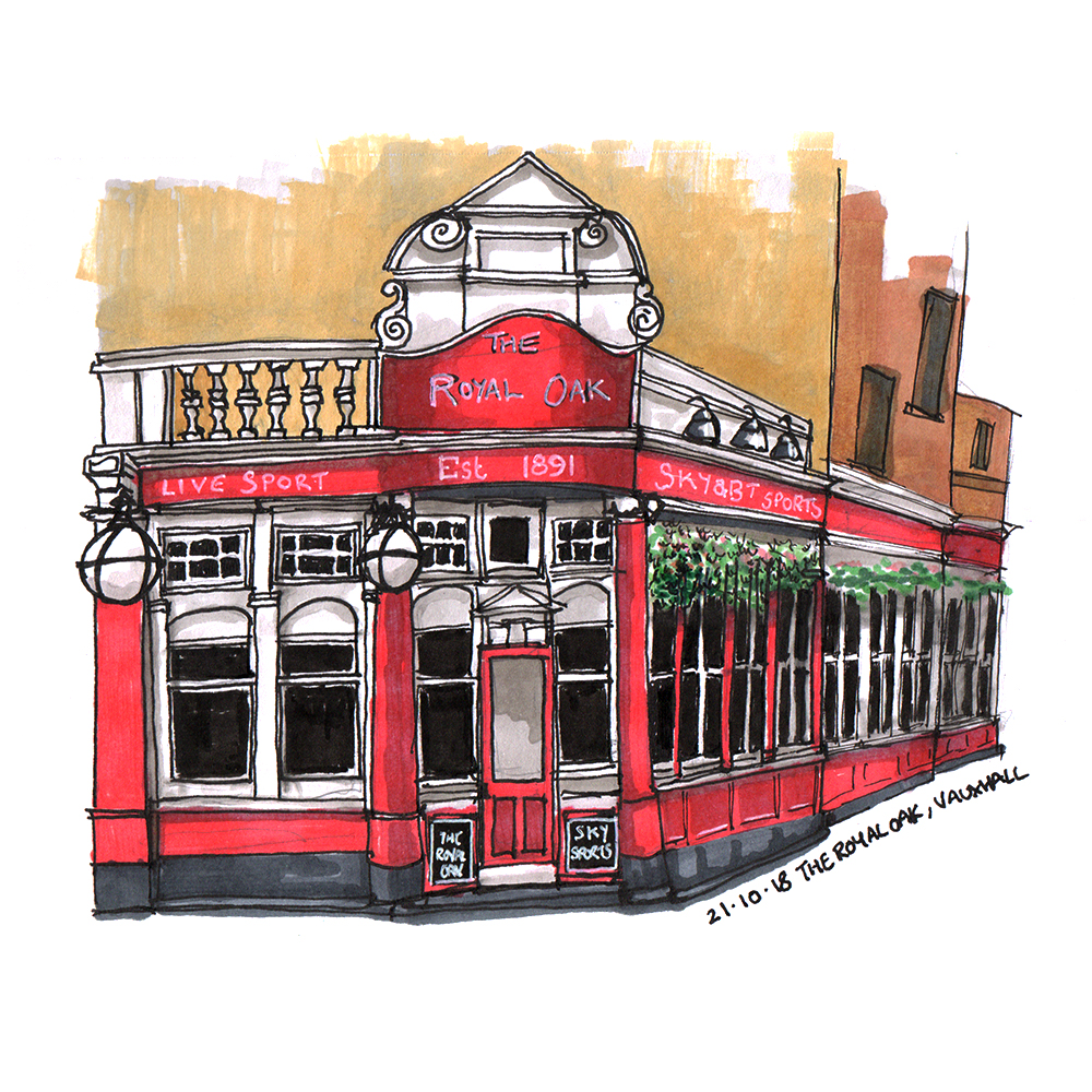 The Royal Oak, Vauxhall, London