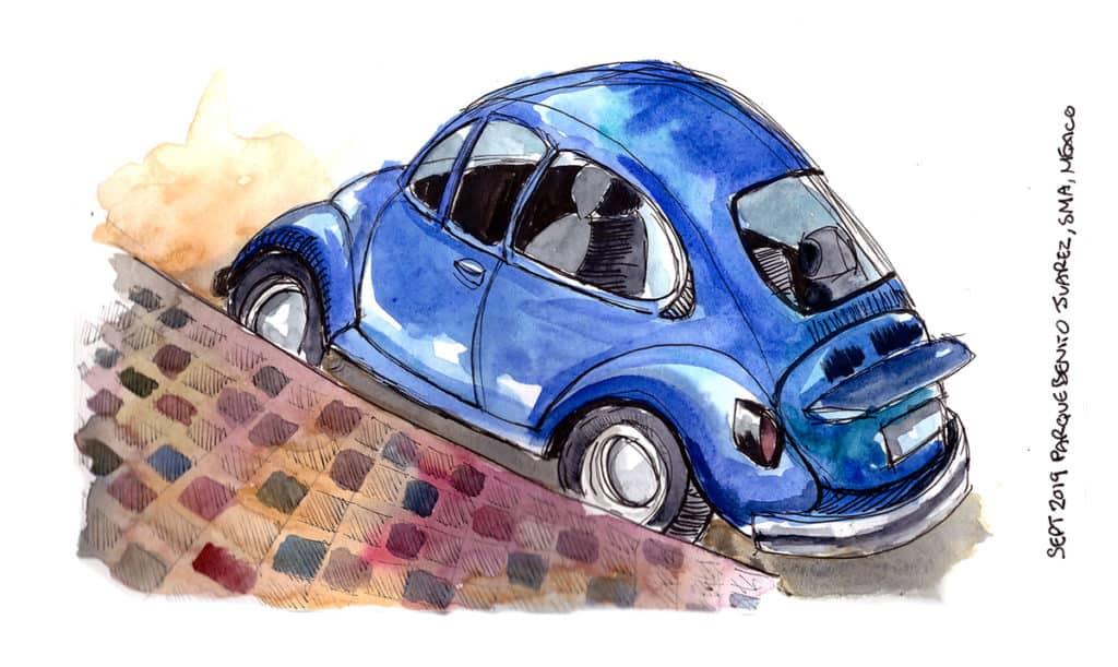 VW Beetle San Miguel Mexico