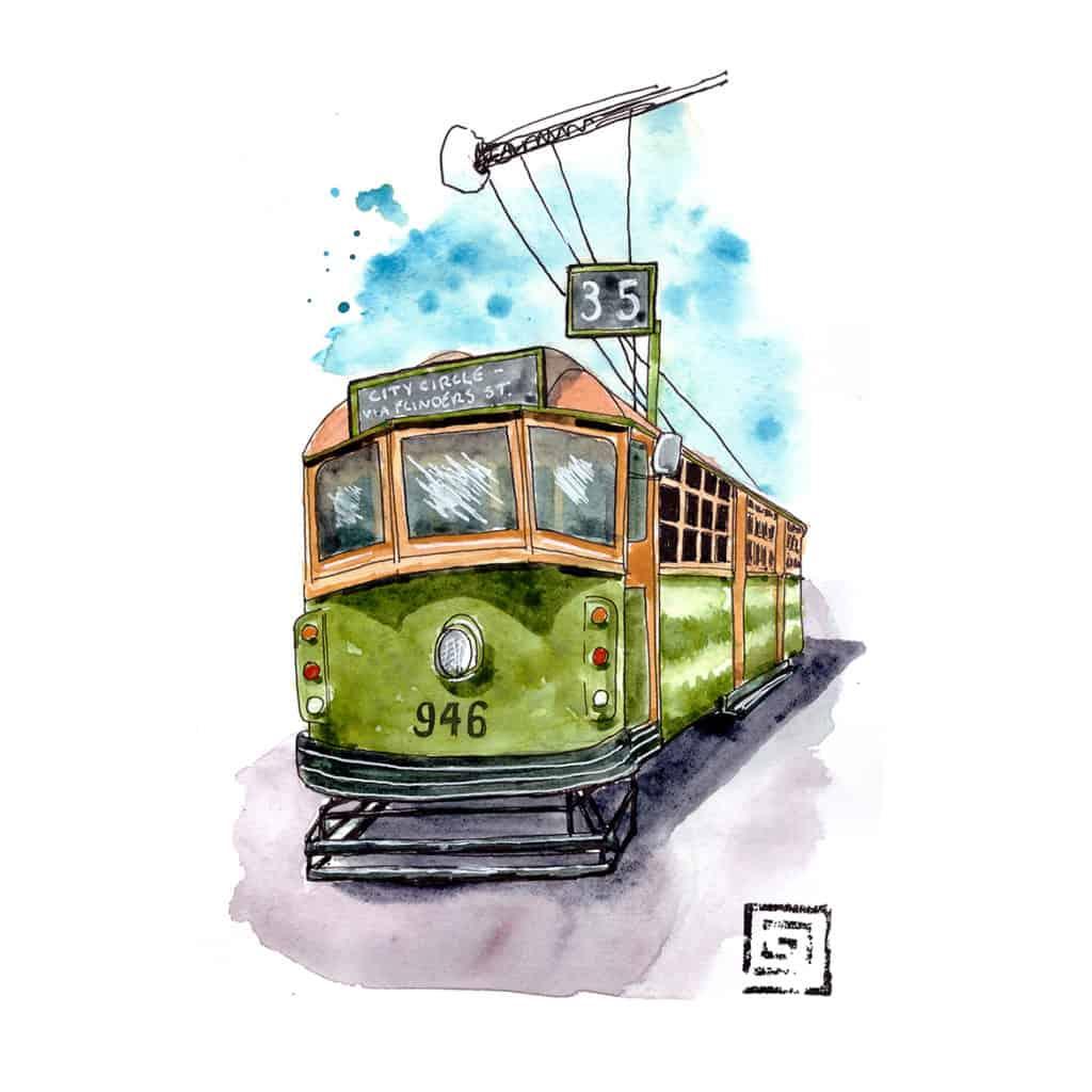 Free tram, Melbourne