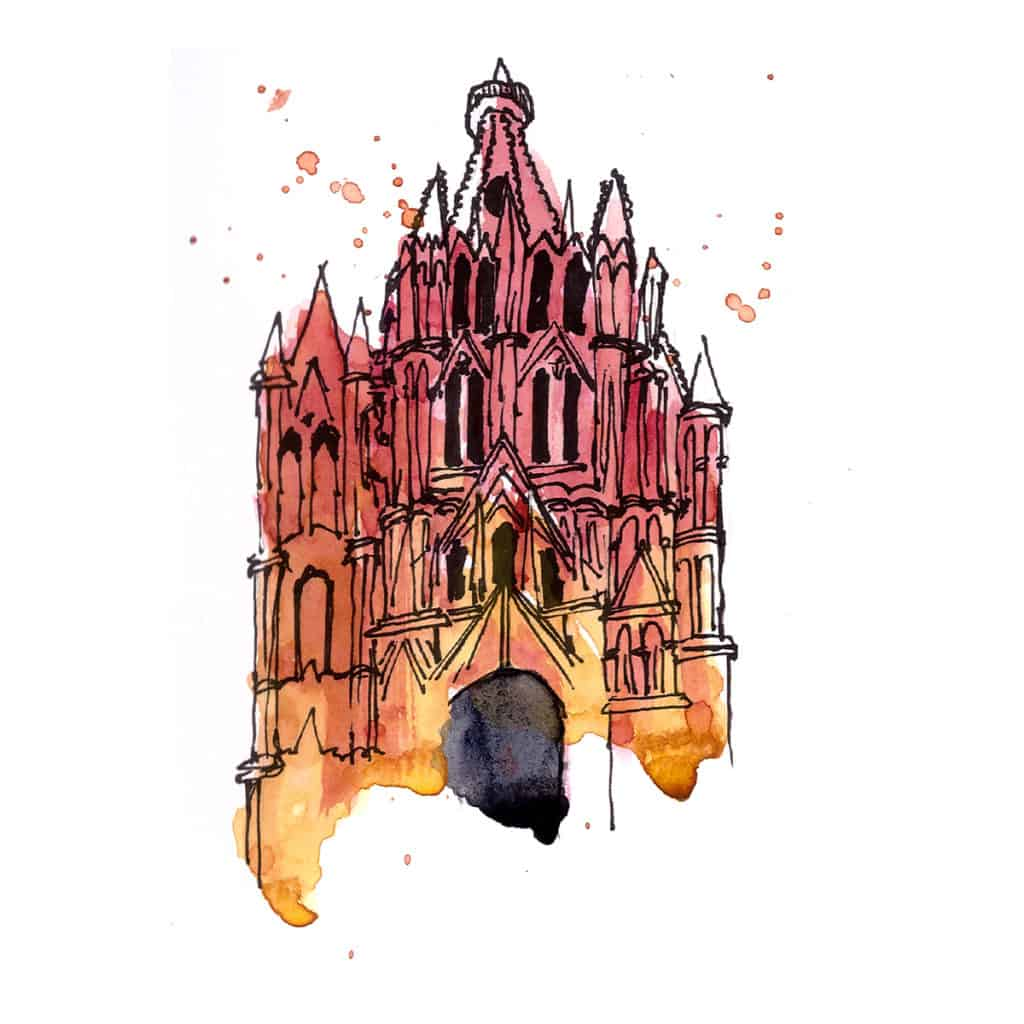 Neogothic church san miguel