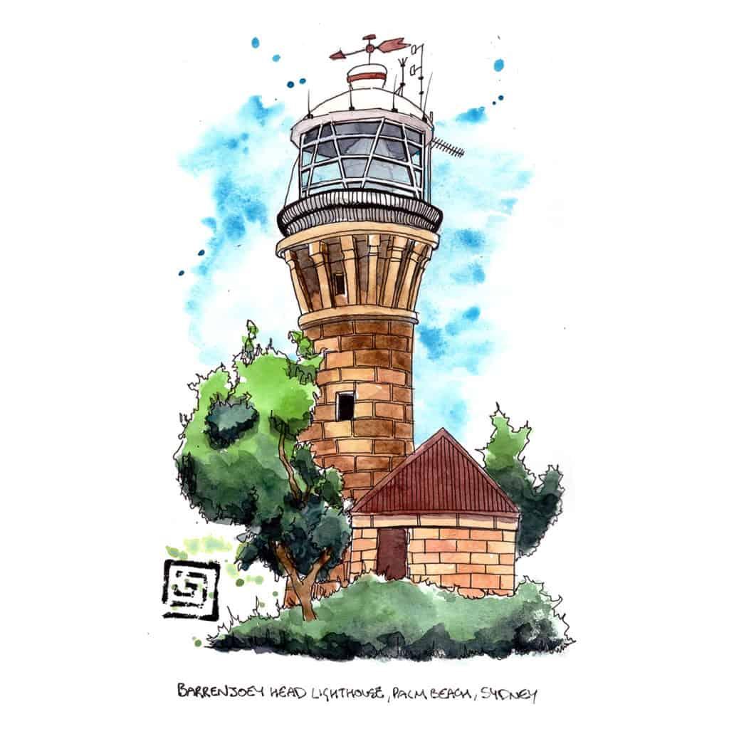 Barrenjoey Head Lighthouse, Palm Beach, Sydeny