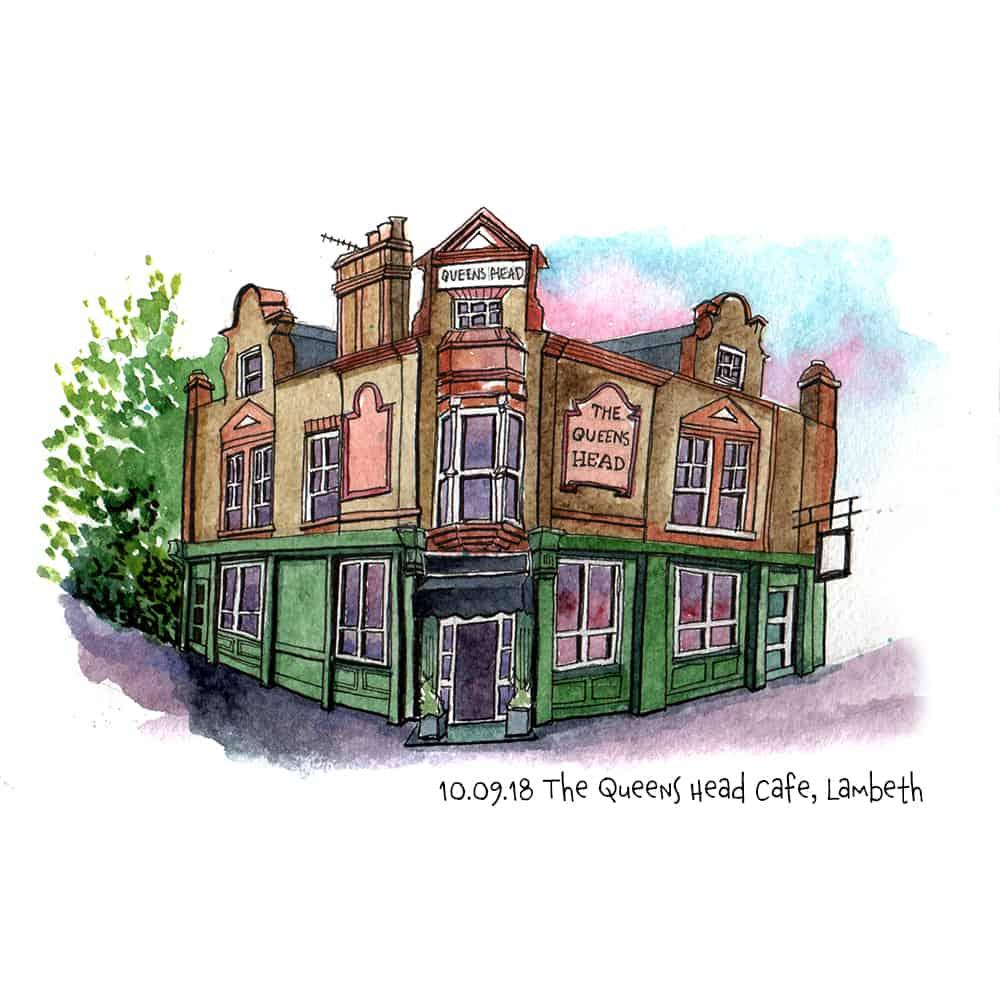 Queens Head Cafe, Lambeth